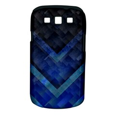 Blue Background Wallpaper Motif Design Samsung Galaxy S Iii Classic Hardshell Case (pc+silicone)