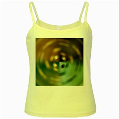Blur Bokeh Colors Points Lights Yellow Spaghetti Tank by Amaryn4rt