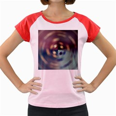 Blur Bokeh Colors Points Lights Women s Cap Sleeve T Shirt by Amaryn4rt