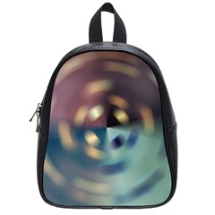 Blur Bokeh Colors Points Lights School Bags (small)  by Amaryn4rt