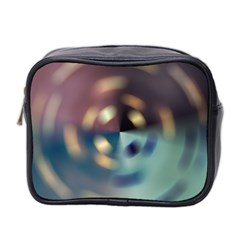Blur Bokeh Colors Points Lights Mini Toiletries Bag 2 Side by Amaryn4rt