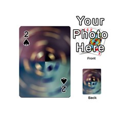 Blur Bokeh Colors Points Lights Playing Cards 54 (mini)  by Amaryn4rt