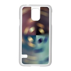 Blur Bokeh Colors Points Lights Samsung Galaxy S5 Case (white) by Amaryn4rt
