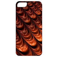 Brown Fractal Mathematics Frax Apple Iphone 5 Classic Hardshell Case