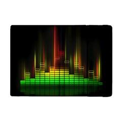 Plaid Light Neon Green Apple Ipad Mini Flip Case by Alisyart