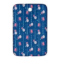 Pig Pork Blue Water Rain Pink King Princes Quin Samsung Galaxy Note 8 0 N5100 Hardshell Case  by Alisyart
