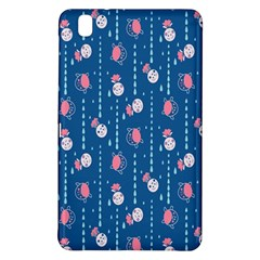 Pig Pork Blue Water Rain Pink King Princes Quin Samsung Galaxy Tab Pro 8 4 Hardshell Case by Alisyart