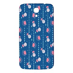 Pig Pork Blue Water Rain Pink King Princes Quin Samsung Galaxy Mega I9200 Hardshell Back Case