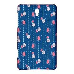 Pig Pork Blue Water Rain Pink King Princes Quin Samsung Galaxy Tab S (8 4 ) Hardshell Case