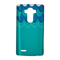 Sea Wave Blue Water Beach Lg G4 Hardshell Case by Alisyart