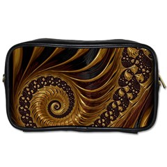 Fractal Spiral Endless Mathematics Toiletries Bags 2 Side by Amaryn4rt