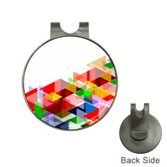 Graphics Cover Gradient Elements Hat Clips With Golf Markers by Amaryn4rt