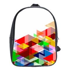 Graphics Cover Gradient Elements School Bags(Large)
