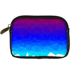 Gradient Red Blue Landfill Digital Camera Cases by Amaryn4rt