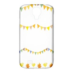 Season Flower Floral Spring Samsung Galaxy S4 Classic Hardshell Case (pc+silicone)