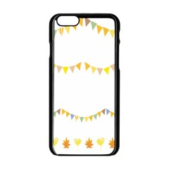 Season Flower Floral Spring Apple Iphone 6/6s Black Enamel Case by Alisyart