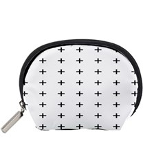 Sign Cross Plus Black Accessory Pouches (small)  by Alisyart