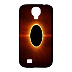 Solar Eclipse Moon Sun Black Night Samsung Galaxy S4 Classic Hardshell Case (pc+silicone)
