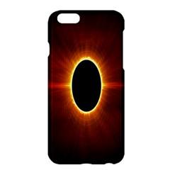 Solar Eclipse Moon Sun Black Night Apple Iphone 6 Plus/6s Plus Hardshell Case