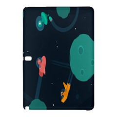 Space Illustration Irrational Race Galaxy Planet Blue Sky Star Ufo Samsung Galaxy Tab Pro 12 2 Hardshell Case