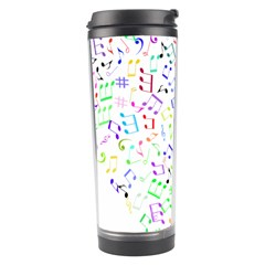 Prismatic Musical Heart Love Notes Rainbow Travel Tumbler by Alisyart