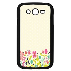 Spring Floral Flower Rose Tulip Leaf Flowering Color Samsung Galaxy Grand Duos I9082 Case (black)