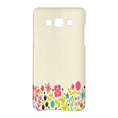 Spring Floral Flower Rose Tulip Leaf Flowering Color Samsung Galaxy A5 Hardshell Case  by Alisyart