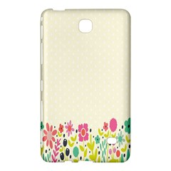 Spring Floral Flower Rose Tulip Leaf Flowering Color Samsung Galaxy Tab 4 (8 ) Hardshell Case  by Alisyart