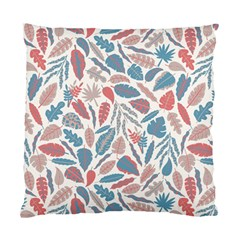 Spencer Leaf Floral Purple Pink Blue Rainbow Standard Cushion Case (one Side)
