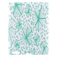 Spring Floral Green Flower Apple Ipad 3/4 Hardshell Case by Alisyart