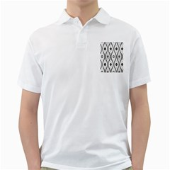 Public Domain Grey Star Golf Shirts