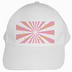 Star Pink Hole Hurak White Cap
