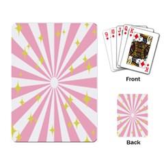 Star Pink Hole Hurak Playing Card