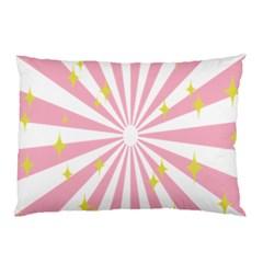 Star Pink Hole Hurak Pillow Case