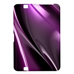 Purple Fractal Mathematics Abstract Kindle Fire Hd 8 9  by Amaryn4rt