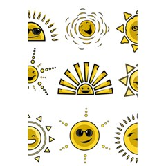 Sun Expression Smile Face Yellow 5 5  X 8 5  Notebooks by Alisyart