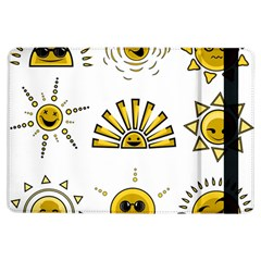 Sun Expression Smile Face Yellow Ipad Air Flip by Alisyart