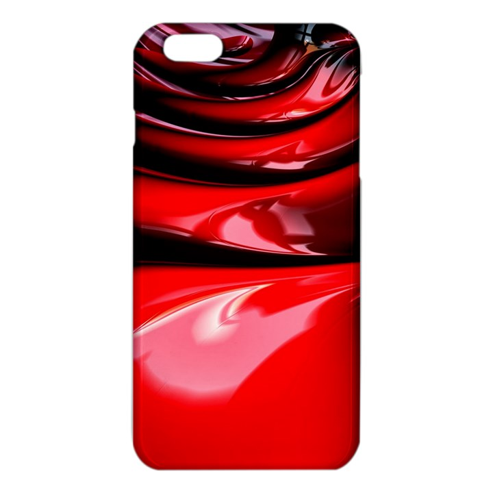 Red Fractal Mathematics Abstract iPhone 6 Plus/6S Plus TPU Case