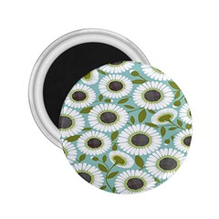 Sunflower Flower Floral 2 25  Magnets