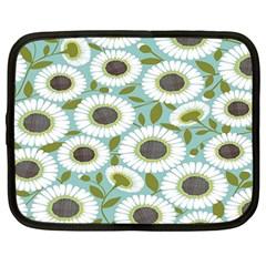 Sunflower Flower Floral Netbook Case (xxl)  by Alisyart