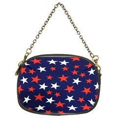 Star Red White Blue Sky Space Chain Purses (two Sides)  by Alisyart