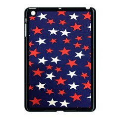 Star Red White Blue Sky Space Apple Ipad Mini Case (black) by Alisyart