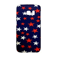 Star Red White Blue Sky Space Galaxy S6 Edge by Alisyart