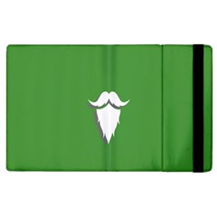 The Dude Beard White Green Apple Ipad 2 Flip Case by Alisyart