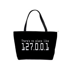There s No Place Like Number Sign Shoulder Handbags by Alisyart