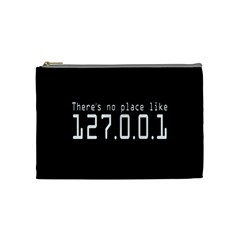 There s No Place Like Number Sign Cosmetic Bag (medium)  by Alisyart