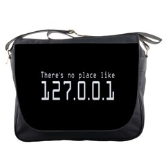 There s No Place Like Number Sign Messenger Bags by Alisyart
