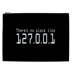 There s No Place Like Number Sign Cosmetic Bag (xxl)  by Alisyart
