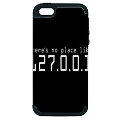 There s No Place Like Number Sign Apple Iphone 5 Hardshell Case (pc+silicone) by Alisyart