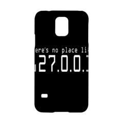 There s No Place Like Number Sign Samsung Galaxy S5 Hardshell Case  by Alisyart